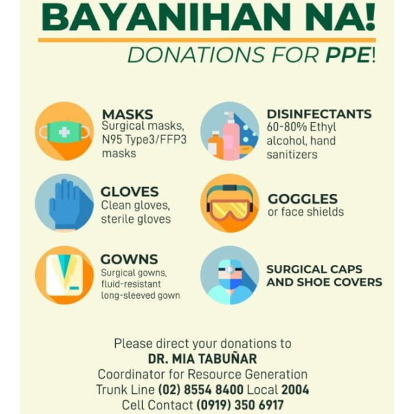 Support PPE Donation Drive by PGH